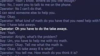 kid call 911 for help with math thumbnail