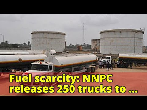 Fuel scarcity: NNPC releases 250 trucks to Lagos