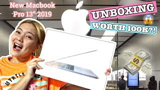 UNBOXING THE NEW MACBOOK PRO 13