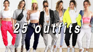 25 Ways to Style Sweatpants that are CUTE AF!!