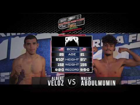 "Albert Veloz vs Malik Abdulmumin ""CFL"" VIII SBC Fairgrounds"