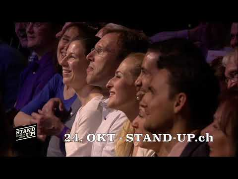 STAND UP! Comedy Show - MIXED Show am 24. Oktober 2017 (Trailer)