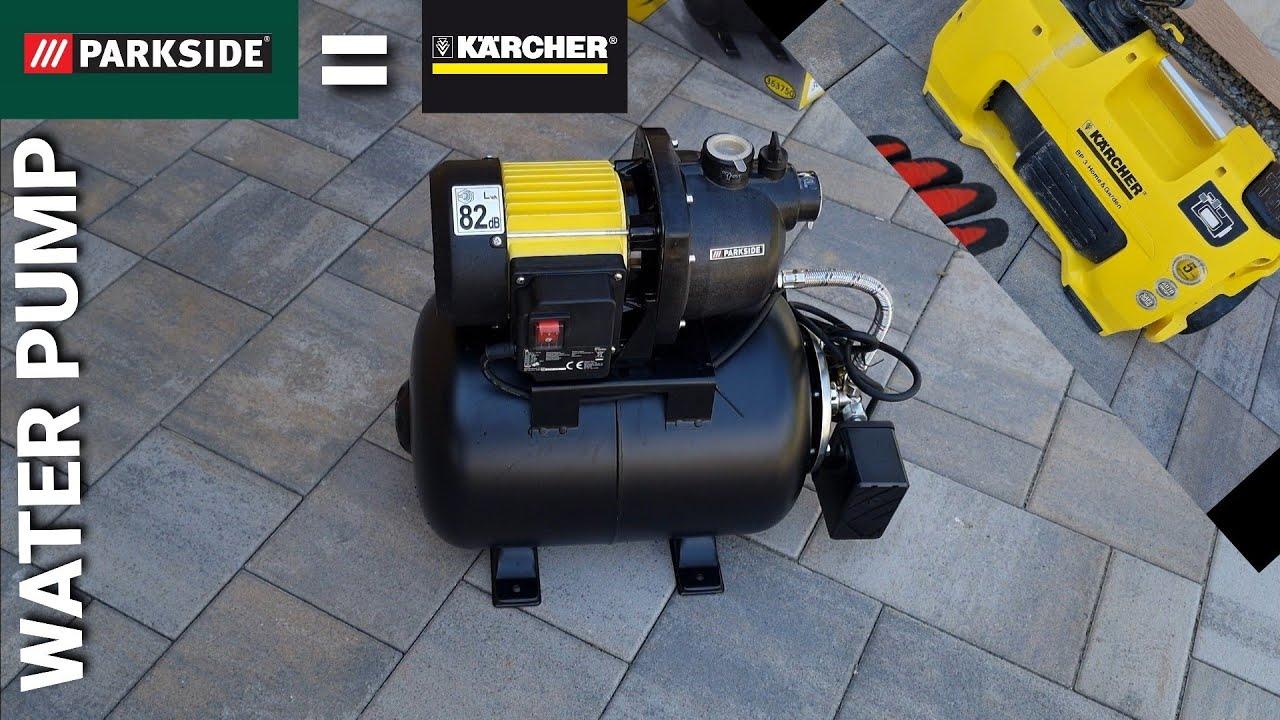 Prečo som vymenil čerpadlo  na vodu KARCHER BP 3 za  čerpadlo PARKSIDE  PHWW1000 A1  ???