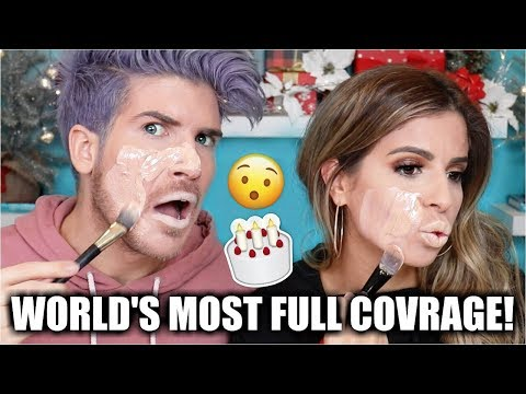 Download Youtube: WORLDS MOST FULL COVERAGE FOUNDATION W. JOEY GRACEFFA