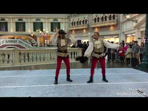 Swordfight at the Venetian, Macau