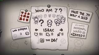 Beat MEGA SATAN with ONLY 2 ITEMS!? Binding of Isaac- Rebirth/Afterbirth