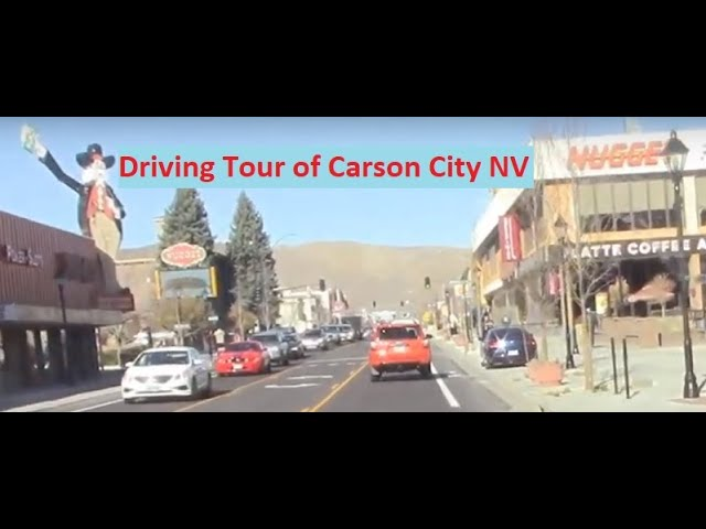 Carson City Nevada Driving Tour Youtube
