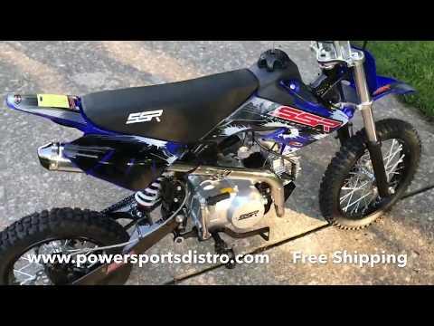 Powersports Distro SSR 125 Manual Pit Bike