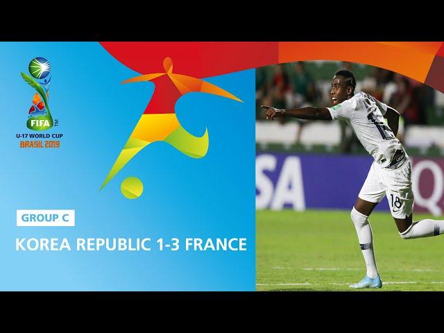 Korea Rep. v France Highlights - FIFA U17 World Cup 2019 ™