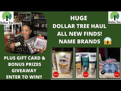 ALL NEW FINDS 😱HUGE DOLLAR TREE HAUL 12/10/19~PLUS GIFT CARD & BONUS GIFTS GIVEAWAY ENTER TO WIN 😍
