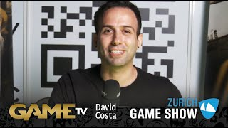 Game TV Schweiz - Interview mit David Costa (Enkera) | Twitch Streamer | Zürich Game Show