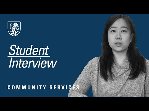 Stott's College - Community Services Placement Student Interview