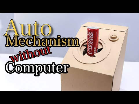 Automatic DIY Cardboard Vending Machine Without Computer