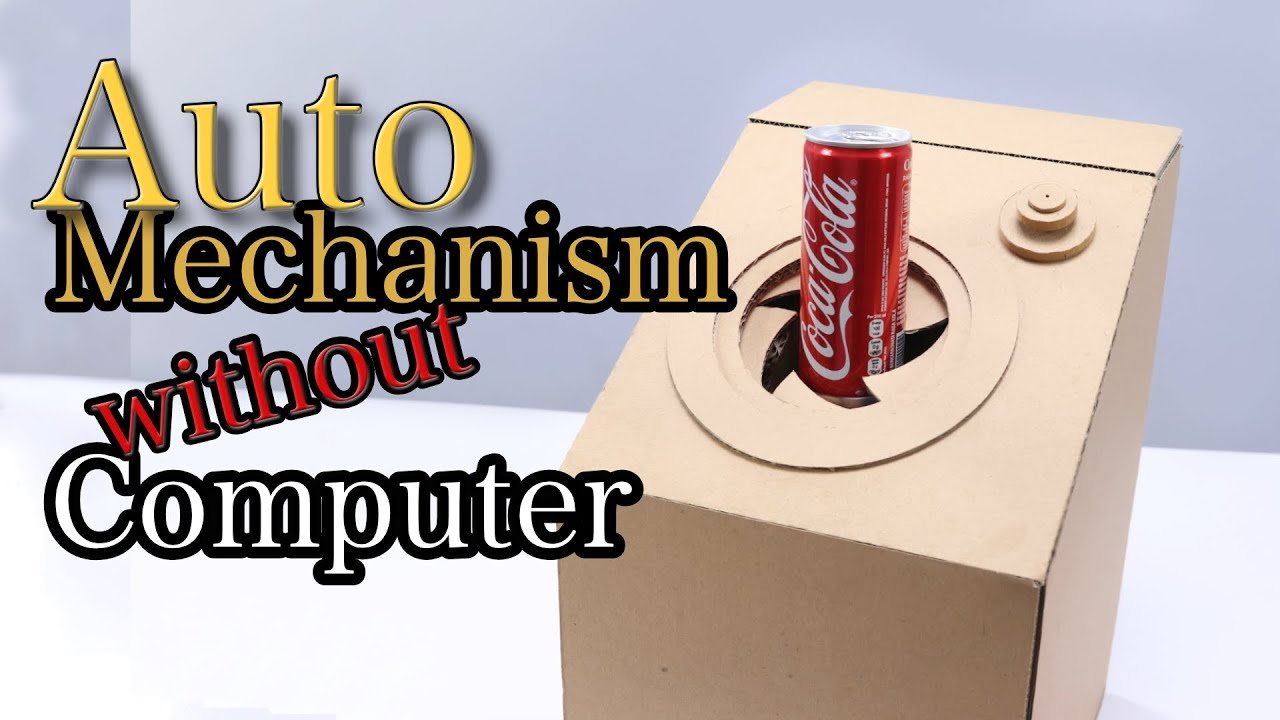 Download Automatic DIY Cardboard Vending Machine Without Computer