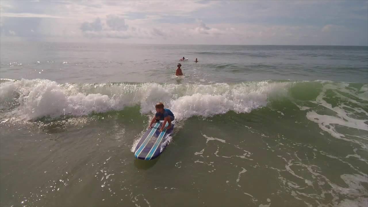 ef88e2a0e0 Palmetto Surf School August 5 2016 Myrtle Beach SC - YouTube
