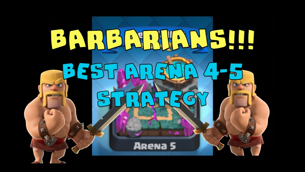 clash royale barbarians 5