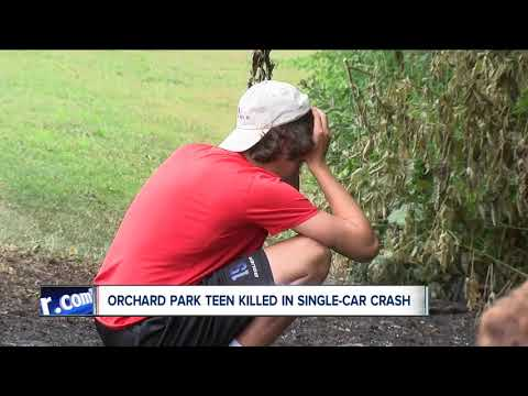 Orchard Park teen killed in one-car crash