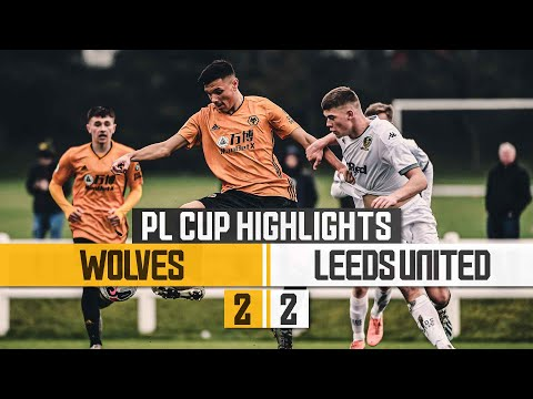 Under-23s Come Back To Stay Unbeaten In The PL Cup | Wolves 2-2 Leeds | Highlights