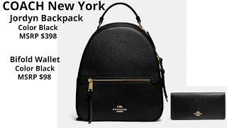 COACH New York Jordyn Backpack…