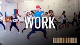 WORK by Rihanna | Beginner Dance CHOREOGRAPHY