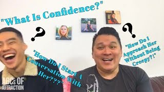 Asian Male Dating Advice: What Is Confidence? How To Start A Conversation With Girls [Facebook Live]