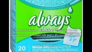 Always Feminine Wipe Clean Wipes-To-Go?