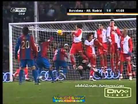 اجمل اهداف رونالدينهو..... Ronaldinho goals