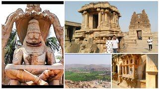 #Vlog Exploring HAMPI Trailer    Hampi Tourism, Karnataka