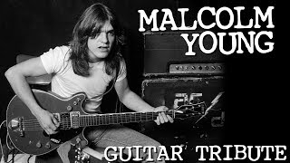 MALCOLM YOUNG 2017 TRIBUTE - Top 10 AC/DC Riffs