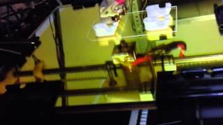 3d Printing Reprap Prusa Mendel Bar Clamps - Timelapse Hd