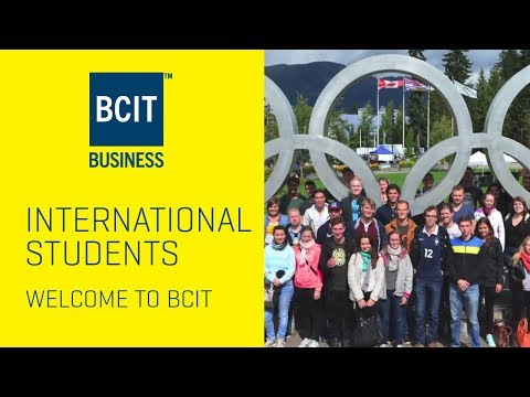 International Exchange Students Welcome to BCIT!