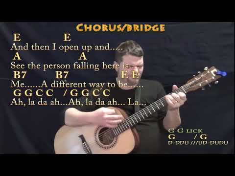 Dreams (The Cranberries) Guitar Lesson Chord Chart with Chords/Lyrics