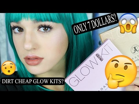 DIRT CHEAP ANASTASIA BEVERLY HILLS GLOW KITS ??? SUN DIPPED & SWEETS | Fakeup Series | Jordan Byers
