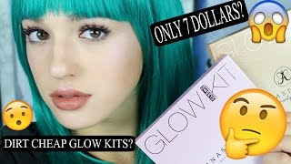 dirt cheap anastasia beverly hills glow kits sun dipped sweets   fakeup series   jordan byers