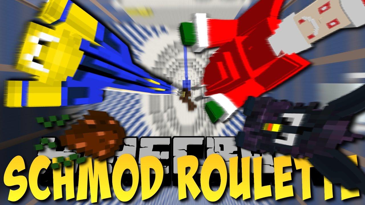 SCHLECHTE MODS beim DROPPER (Minecraft Schmod Roulette #1)