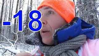 Охота на рябчика по снегу видео