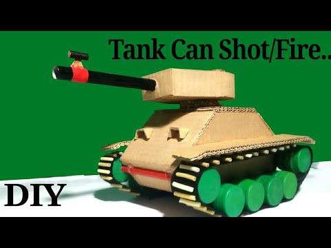 How to make a Tank That Can Shot/Fire