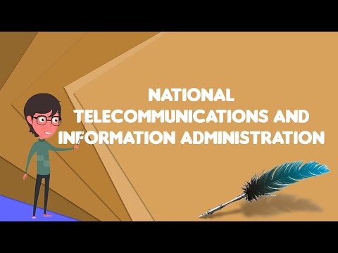 What Is National Telecommunications And Information Administration