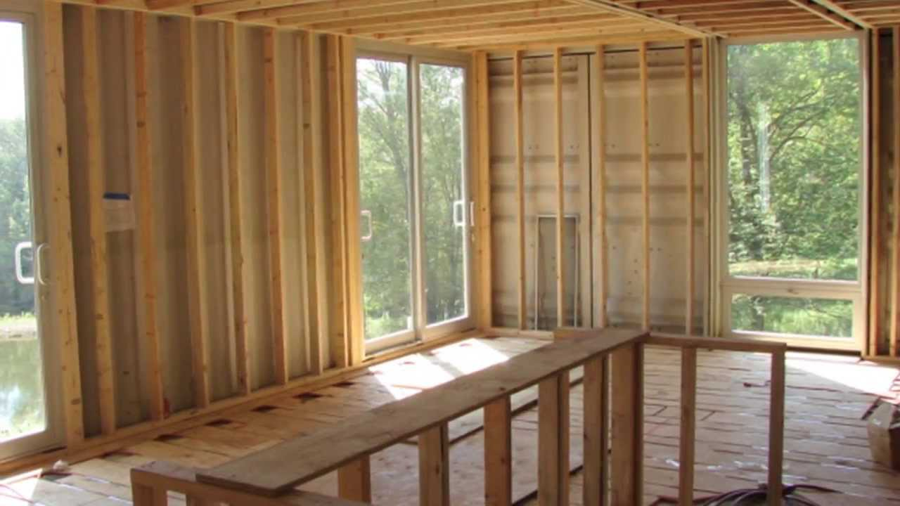 shipping container home - youtube