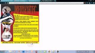 Video Internet No 024   Poner tu imagen en un correo electronico y enviar publicidad