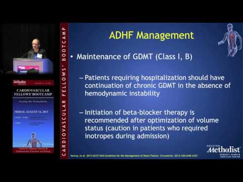 Acute Decompensated Heart Failure (Jessica Brown, MD)