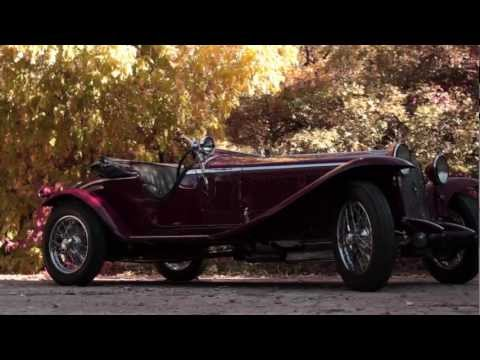 1929 Alfa Romeo 6C 1750 (Montage)