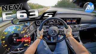 NEW! Mercedes-AMG E63s | 0-300 km/h acceleration🏁 | by Automann