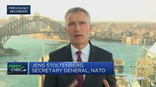 NATO's Stoltenberg: We must address the rise of China's military power   Squawk Box Europe
