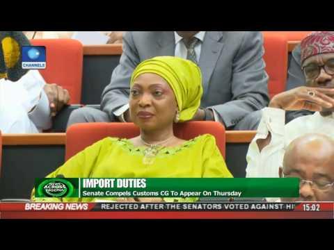 News Across Nigeria: Senate Rejects Magu's Nomination Again