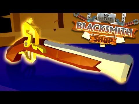 My Little Blacksmith Shop - Flintlock Found! + New Rare Items! - My Little Blacksmith Shop Update
