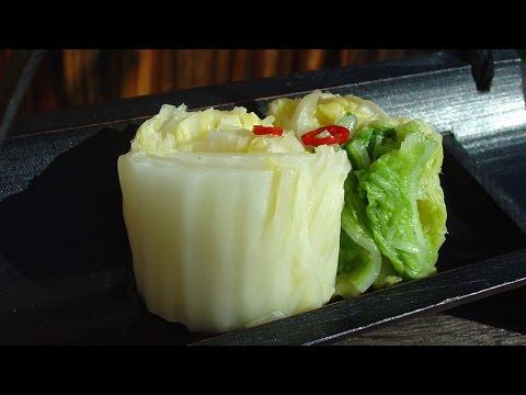 白菜の漬物の作り方(本格塩漬けのレシピ) - How To Make Hakusai Zuke (Chinese Cabbage Tsukemono)
