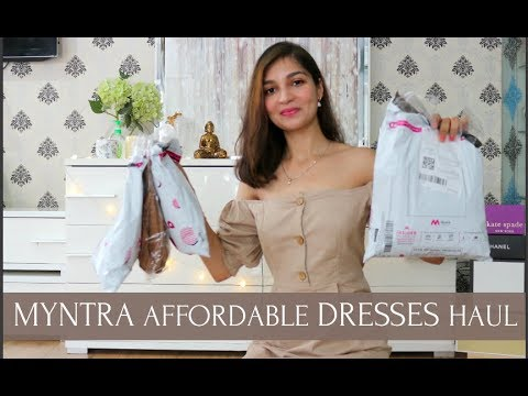 MYNTRA DRESS TRY-ON HAUL | 6 AFFORDABLE DRESS HAUL | Tanu Gupta