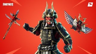 Fortnite 9 Kill Solo WIn // Shogun skin game play