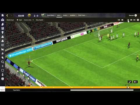 Eskişehirspor 2 - 0 Bursaspor Maç Özeti # FM 2015 Kariyer #
